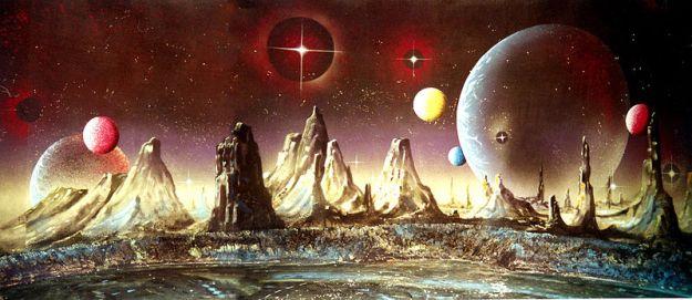 Die Planeten. (G. Holst) 1995 70X15 Meter